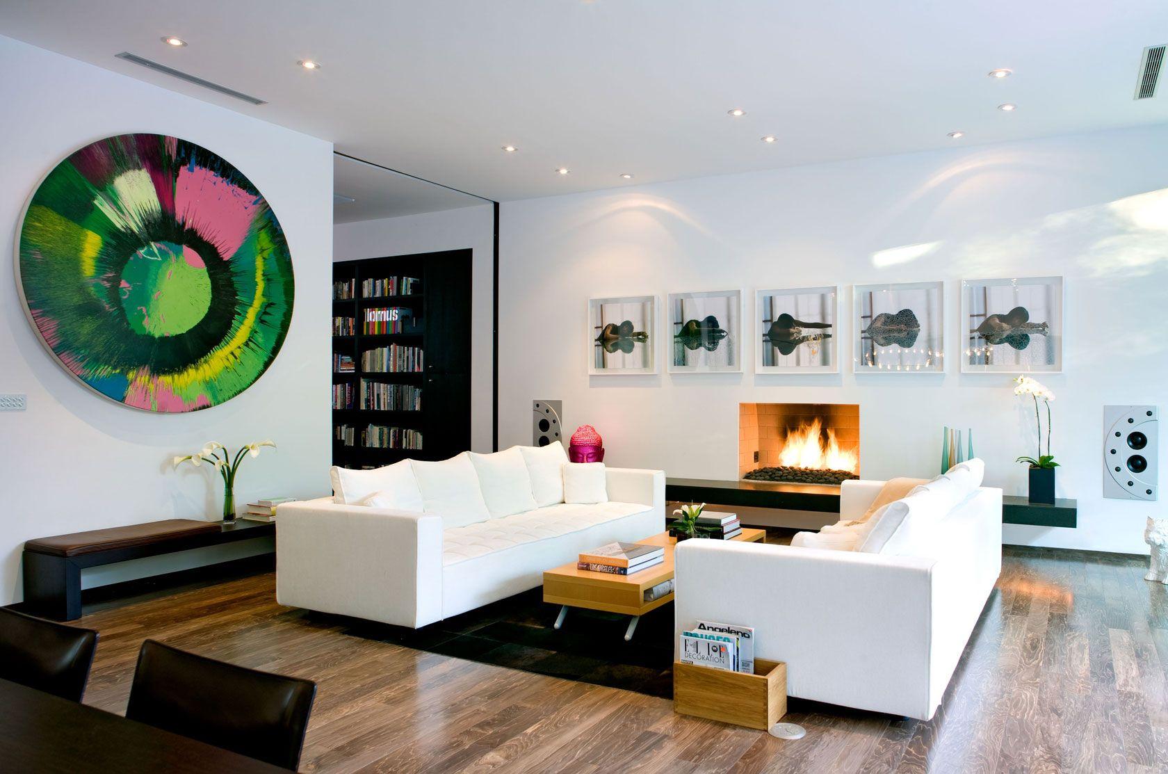 Dise o de moderna casa de dos pisos construida en 220 - Diseno casa moderna ...