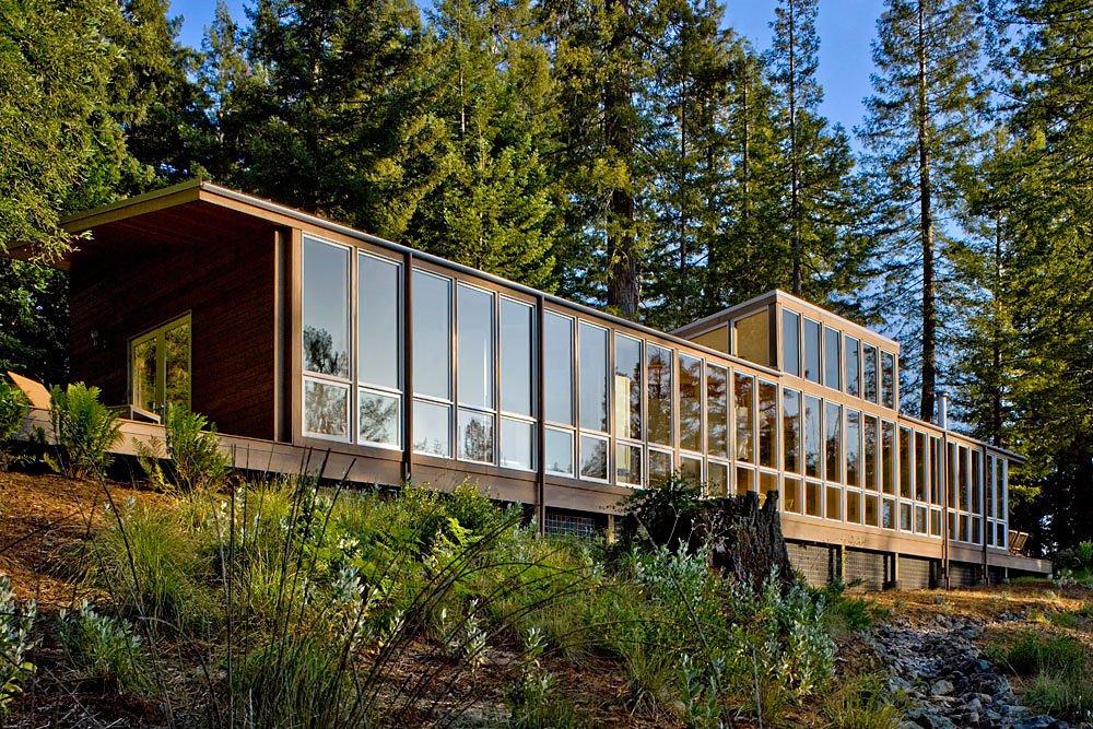 Plano Casa De Campo Construida En Madera Moderno Dise 241 O