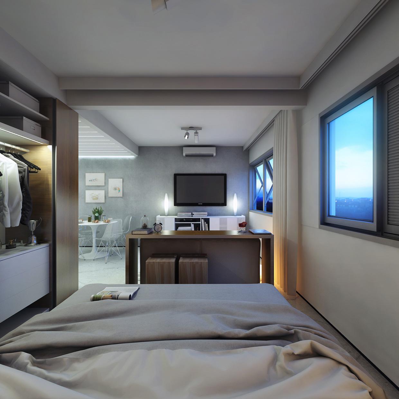 Departamento de 30 metros cuadrados planos de arquitectura for Diseno de apartamento de una habitacion