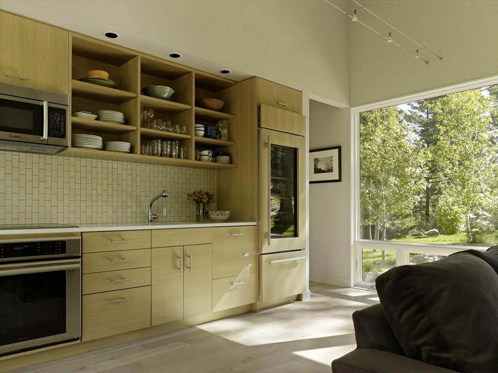 Diseño de cocina de casa de campo