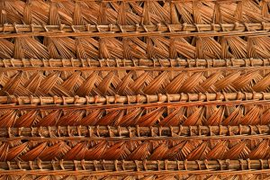 Detalle de tejido artesanal