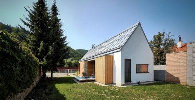 Diseño de casa de campo de 93 metros cuadrados
