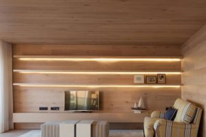 Diseño de luminarias en sala
