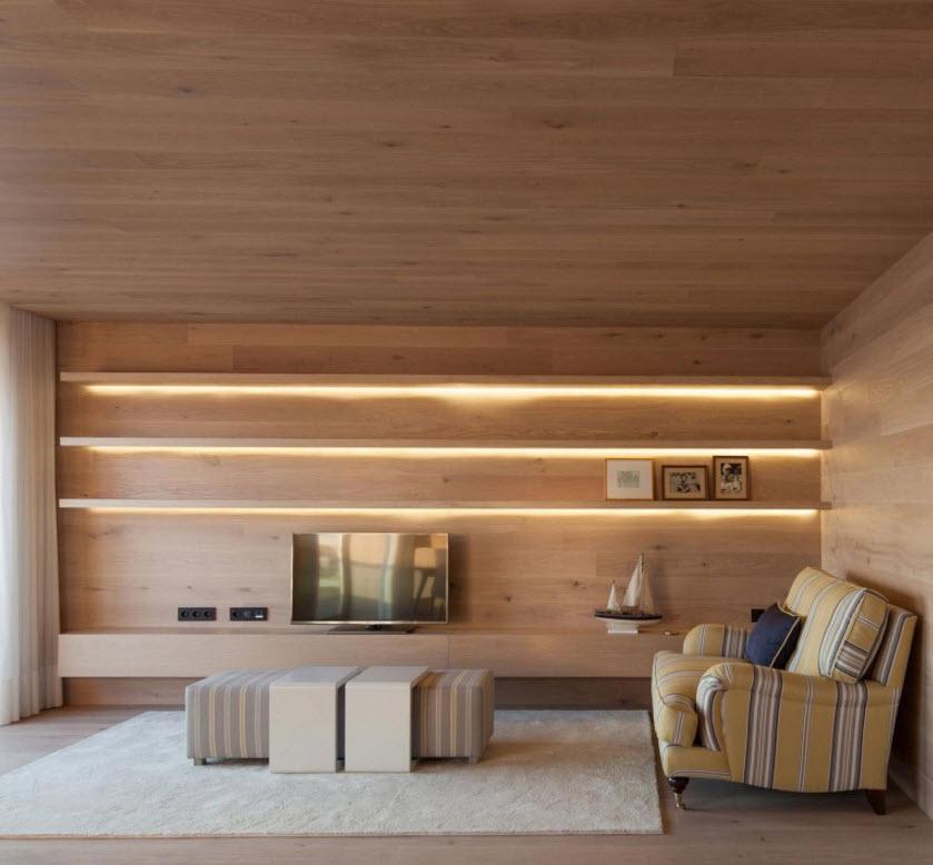 Diseño de luminarias en sala – Planos de Arquitectura