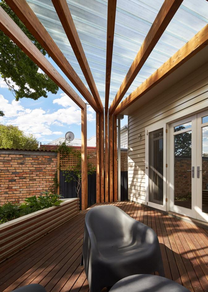 Diseño De Terraza En Madera Planos De Arquitectura