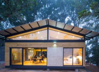 Fachada exterior de la casa