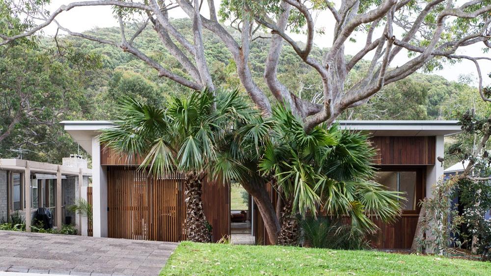 Cerco perimétrico y jardín exterior