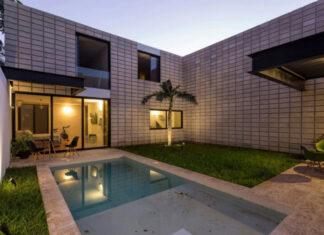 Planos de arquitectura ideas de casas y departamentos - Planos de casas con patio interior ...
