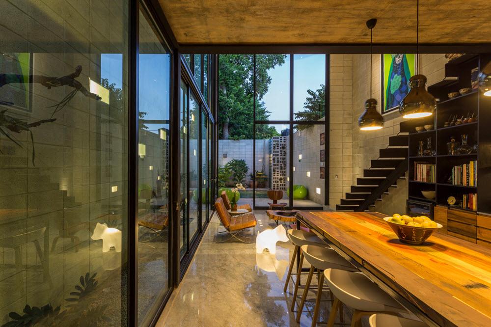 Interior de sala y comedor