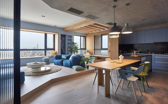 Departamento de 150 metros cuadrados planos de arquitectura for Interior departamento