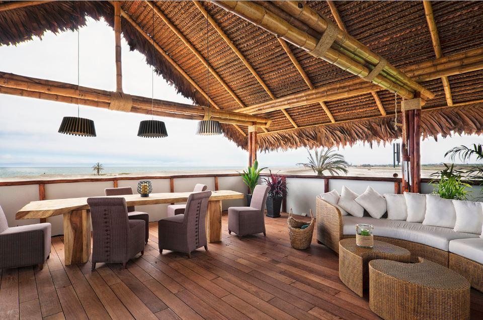 Diseño De Casa De Playa Con Bambú Y Madera Planos De