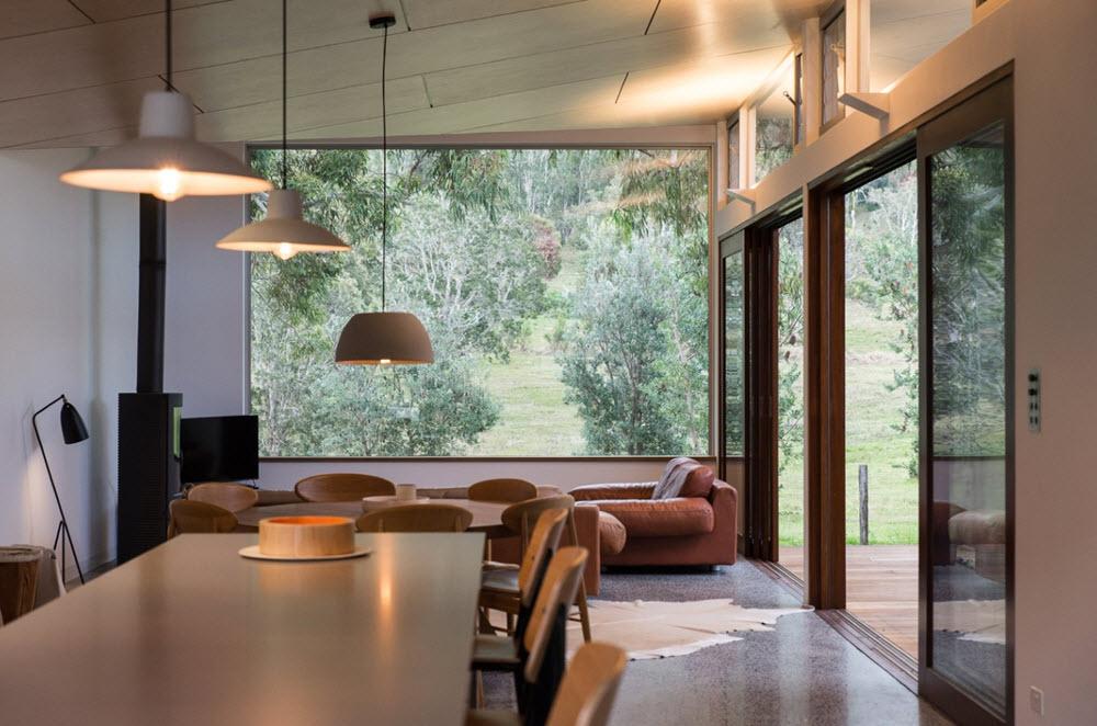 Casas de un piso 119 metros cuadrados planos de arquitectura - Diseno patio interior ...