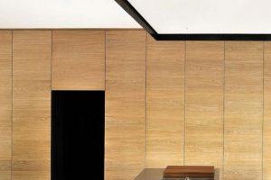 Utilización de madera en su interior