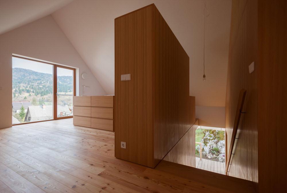 Ambientes interiores en madera
