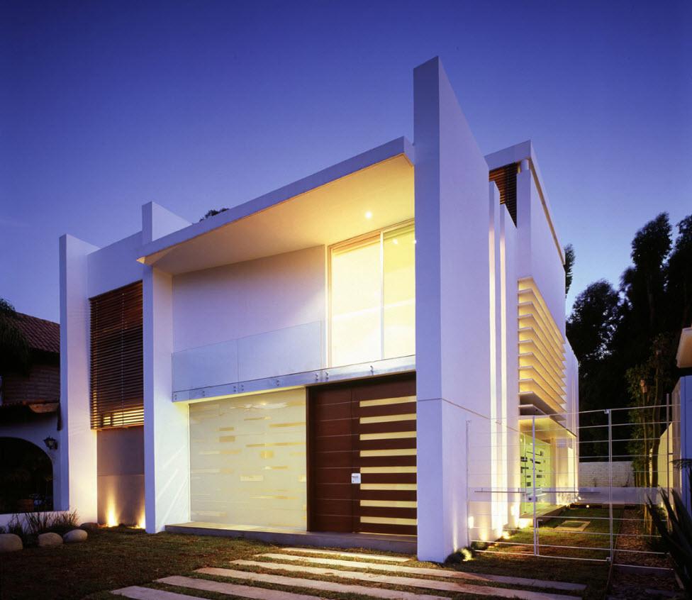 Dise o de casas modernas de tres dormitorios planos de for Casas pequenas de dos pisos modernas