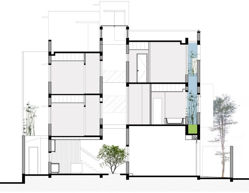 Dise o de casa moderna 112 m planos de arquitectura - Plano de la casa ...