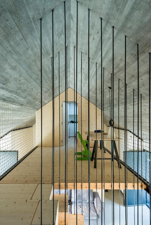 Diseño de segundo piso de cabaña