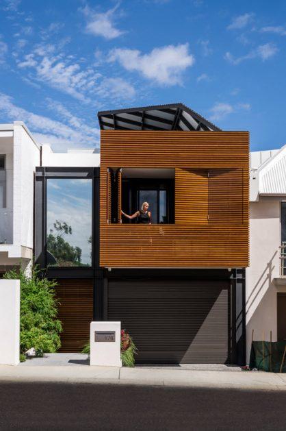 Dise o casa peque a dos pisos planos de arquitectura for Disenos de pisos para casas