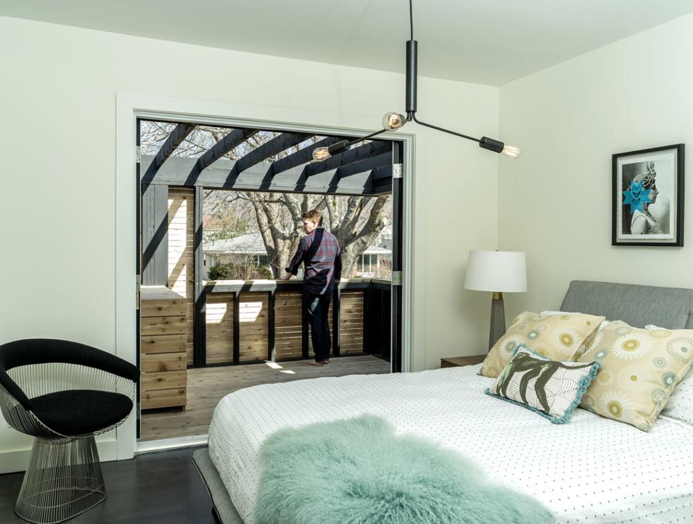 Dormitorio con terraza interna planos de arquitectura for Terrazas internas