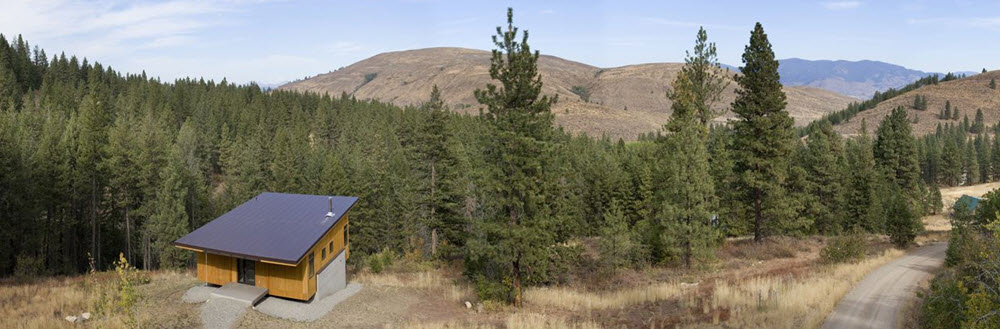 Entorno de la pequeña vivienda de campo