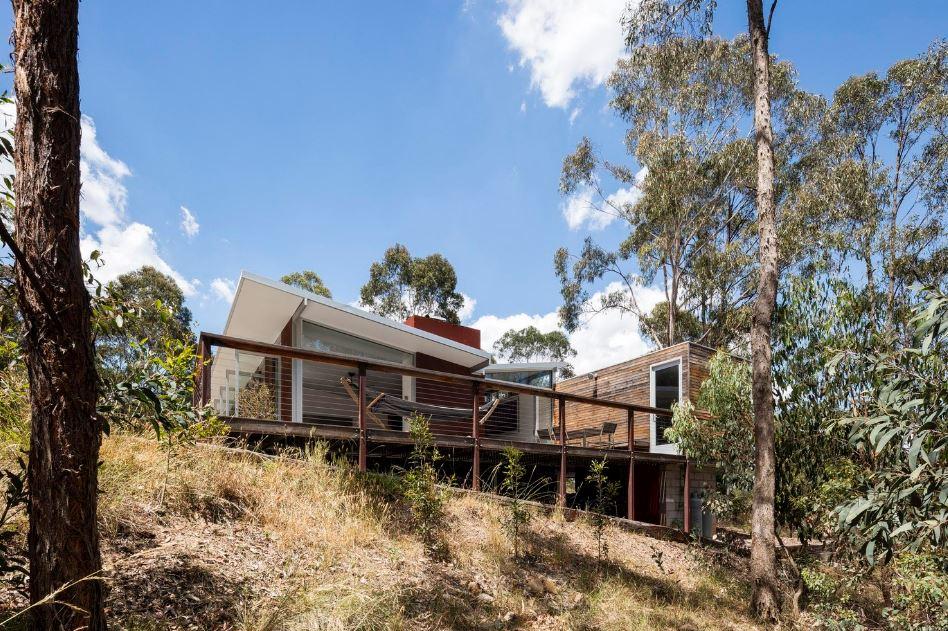 Diseño de fachada casa de campo