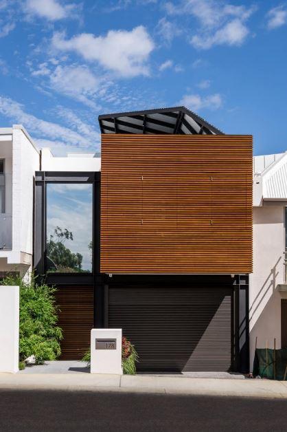 Dise o casa peque a dos pisos planos de arquitectura for Fachadas de casas pequenas de 2 pisos