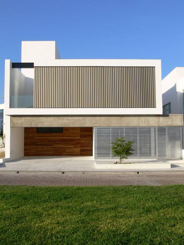 Planos casa moderna de dos pisos planos de arquitectura for Fachada de casa moderna de un piso