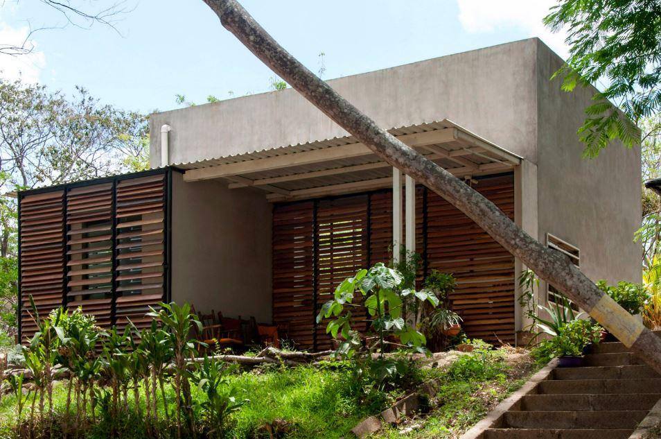 Casa pequeña de hormigón