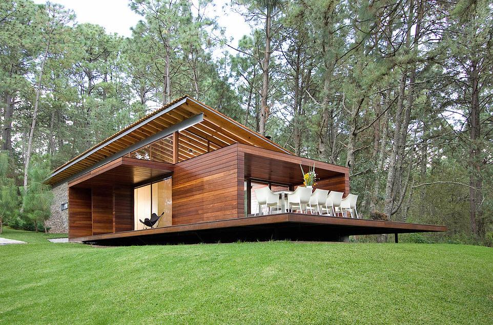 Casas modernas de campo kc91 ivango for Diseno de piscinas para casas de campo