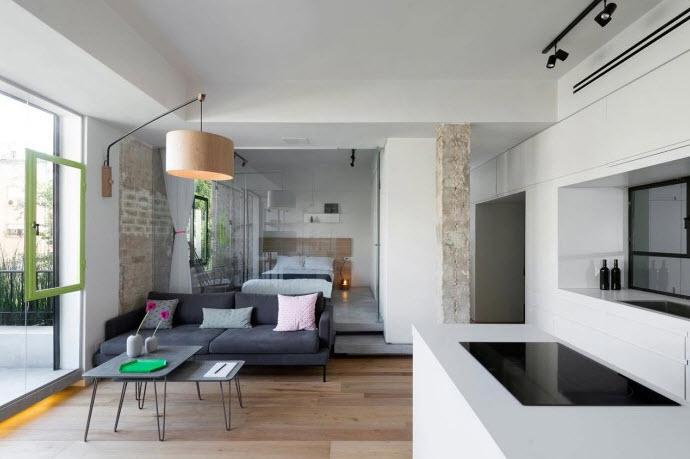 Diseño de sala pequeño departamento
