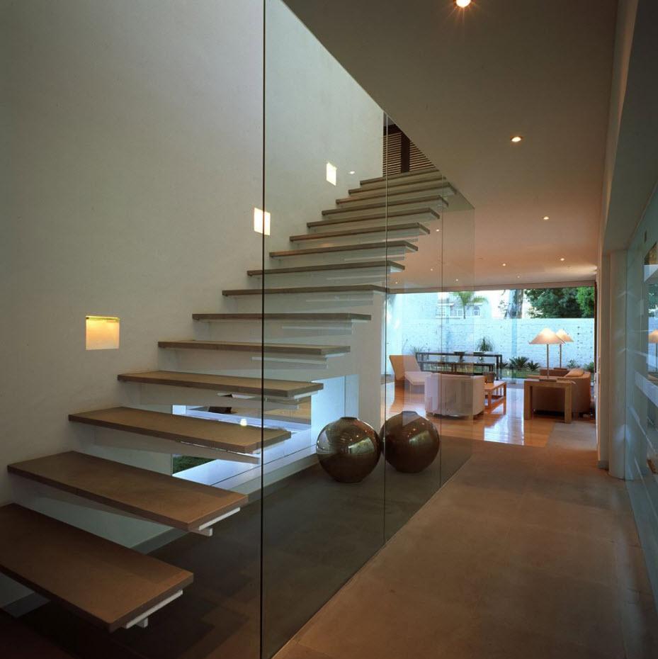 Dise o casa de dos pisos moderna planos de arquitectura for Diseno de ambientes interiores