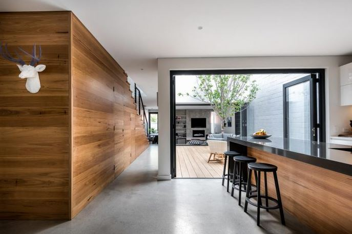 Dise o casa peque a dos pisos planos de arquitectura for Diseno de paredes interiores casas