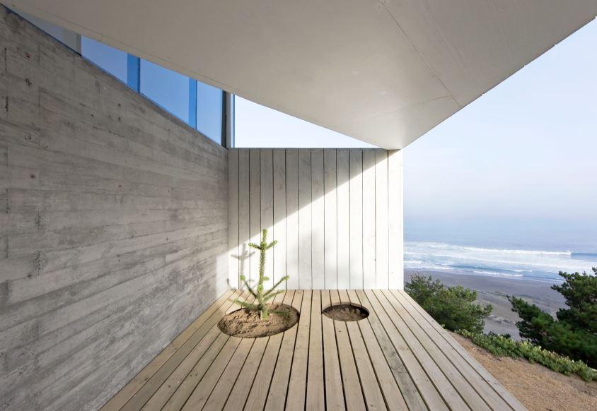 Dise o casa peque a de playa planos de arquitectura for Disenos de terrazas pequenas