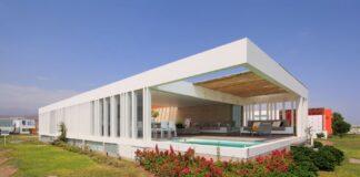 Casas largas y angostas planos de arquitectura part 2 - Casas estrechas y largas ...