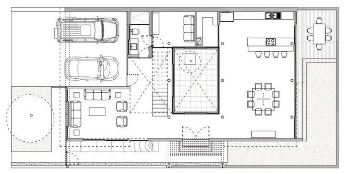 Planos casa moderna de dos pisos planos de arquitectura for Planos arquitectonicos de casas modernas