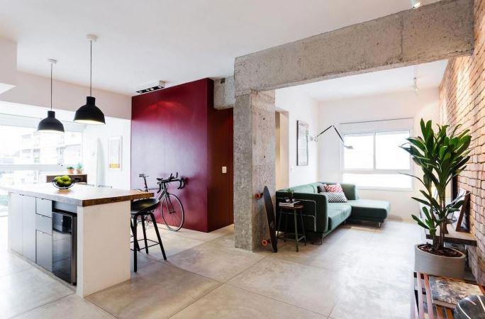 Dise o departamento 30 m2 planos de arquitectura for Diseno de interiores departamentos modernos