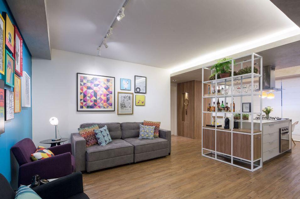 Diseño de sala sencilla y practica