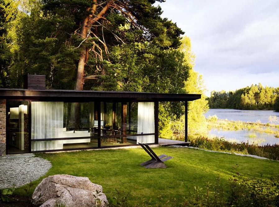 Image casa campo moderna for Casa moderna storm oak