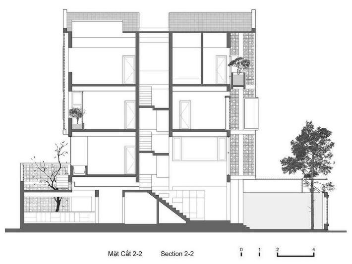 Casas modernas con fachadas de celos as planos de for Escaleras para tres pisos