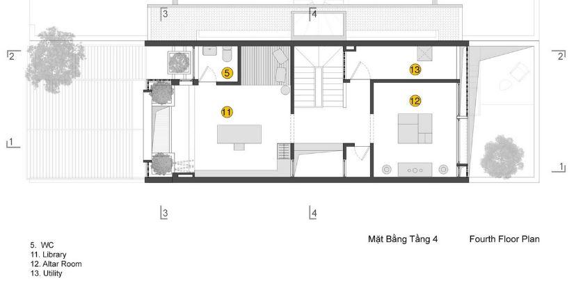 Cuarta planta de la pequeña casa