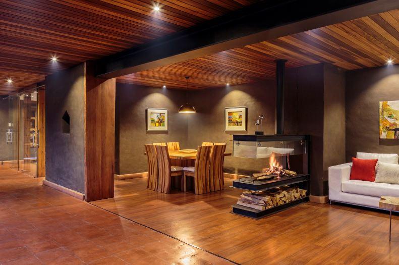Dise o de moderna sala comedor planos de arquitectura for Diseno sala comedor