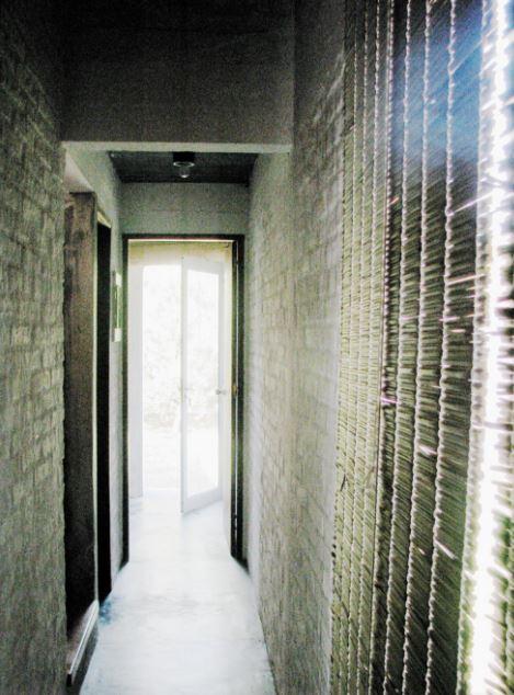 Diseño de pasillo rusticos