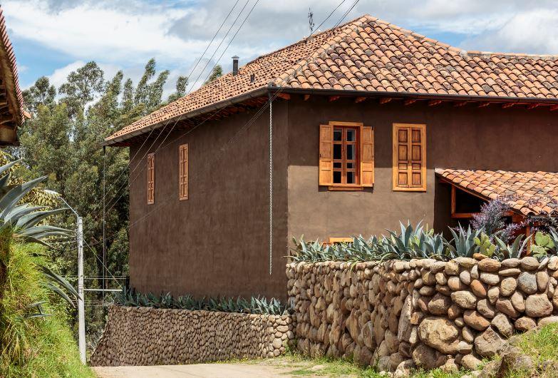 Dise o casa construcci n con adobe planos de arquitectura - Como se construye una casa ...