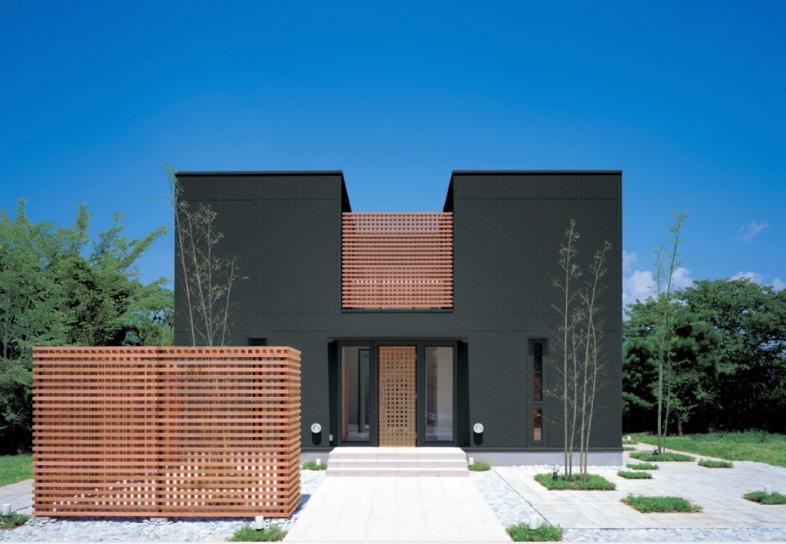 Diseño de casa dos pisos segura contra robos