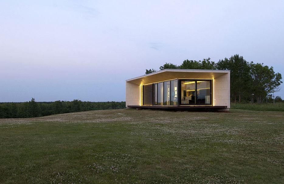 Hermosa casa compacta de un piso