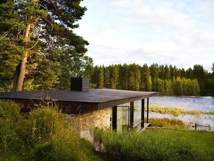 Dise os de casas de campo peque as planos de arquitectura - Fotos de casas de campo de madera ...