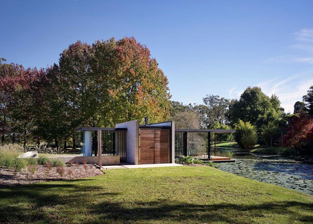 Dise o de casa de campo peque a planos de arquitectura for Disenos de casas de campo pequenas