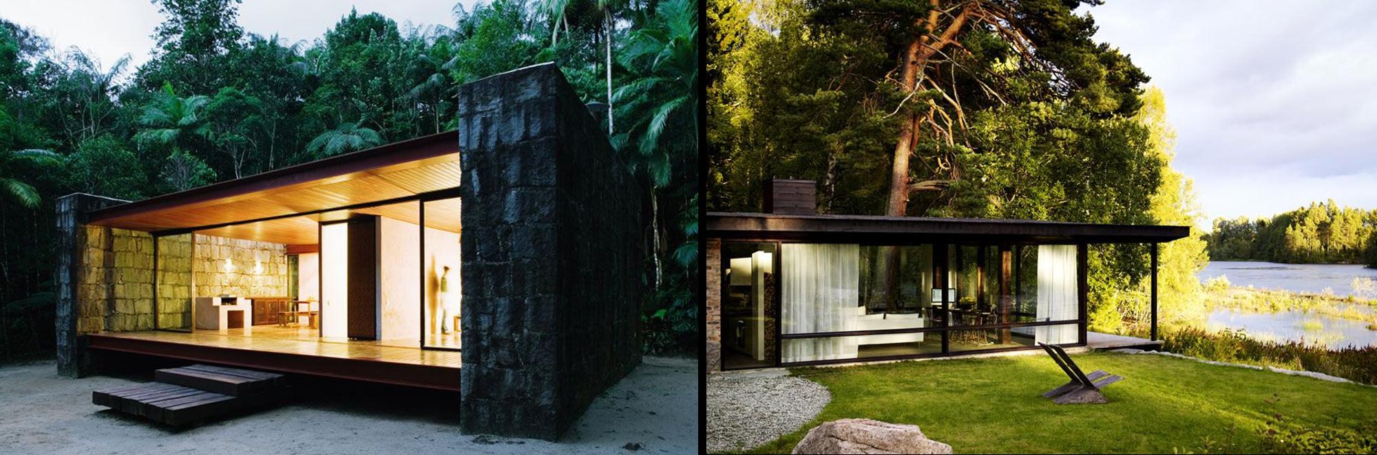 Dise os de casas de campo peque as planos de arquitectura for Planos de casas de campo rusticas