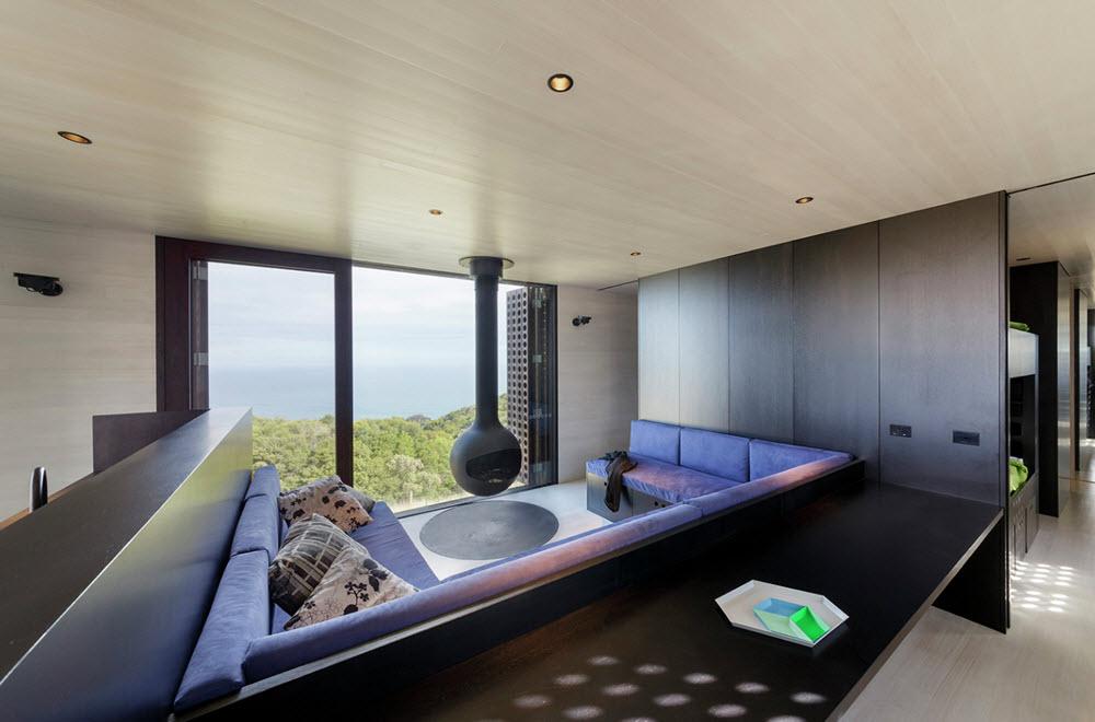 Moderna sala presenta espacialidad