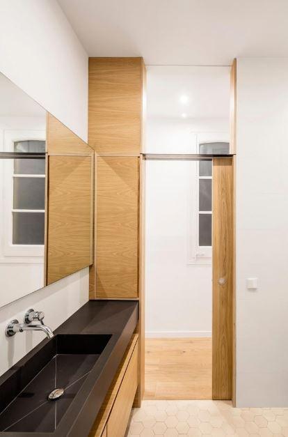 Moderno diseño de cuarto de baño